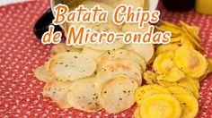 Batata Chips de Microondas - Receitas de Minuto EXPRESS #12