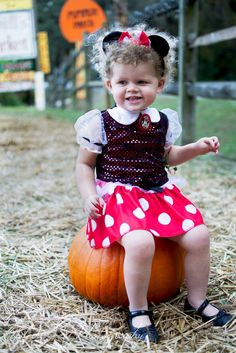 My perfect little Minnie Mouse!