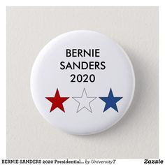 Bernie Sanders for President 2020-1.25 Inches Button//Pin