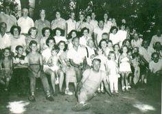 Halbert/Johnson Family Picnic, c. 1949 in Edison, NJ