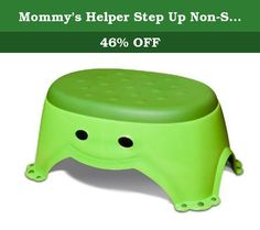 0ff5f92b541 Mommy s Helper Step Up Non-Slip Stepstool Froggie Collection