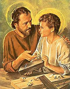 """""""Be Close to Your Children"""":  Pope Francis' St. Joseph Day Message to Fathers"""