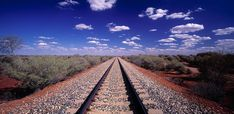 We're not talking the daily commute here. Come aboard and check out 8 great journeys with the most spectacular views imaginable from around the world. Horse Drawn Wagon, Train Journey, Railroad Tracks, Coastal, Around The Worlds, Australia, History, Travel, Tips