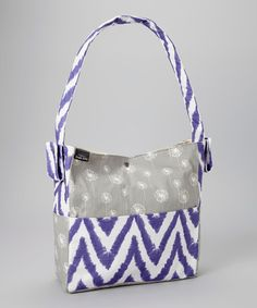 SALE SALE SALE SALE  This Dandelion Diva Diaper Bag by Brownie Gifts is perfect! #zulilyfinds