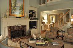 Living Room Paint - Restoration Hardware Silver Sage