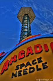 Take a look at the beautiful mountain views from the Space Needle in Downtown Gatlinburg.