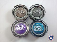 Maybelline Color Tatto 24Hr Cream Gel Eyeshadows