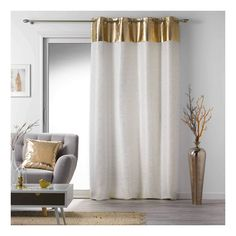 Decoration Gris, My Room, Curtains, Shower, Dining Rooms, Polyester, Couture, Boutique, Home Decor