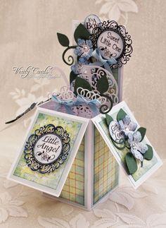 Verity Cards: Its a boy !! Pop up box