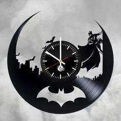 Batman Dark victory Handmade Vinyl Record Wall Clock Fan gift - VINYL CLOCKS