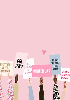 Feminist Quotes, Feminist Art, Equality Quotes, Empowerment Quotes, Women Empowerment, Illustration Inspiration, Illustration Girl, Buch Design, Pink Aesthetic