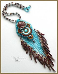 Inspiration: Turquoise and brown =  Love
