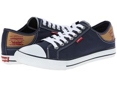 Levi's® Shoes Stan Buck Navy/Brown - Zappos.com Free Shipping BOTH Ways