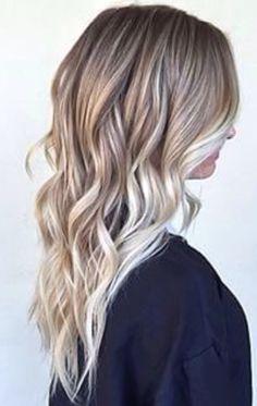 curls + balayage