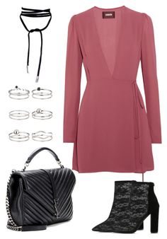 """""""Untitled #1829"""" by kellawear on Polyvore featuring Reformation, Yves Saint Laurent and Miss Selfridge"""