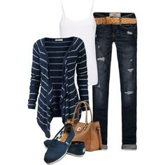 A fashion look from July 2012 featuring Fat Face cardigans, MANGO tops and Hollister Co. jeans. Browse and shop related looks.