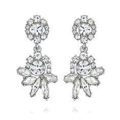 Swept Away Post Drop Earrings…Also BEAUTIFUL for Bridal!!! http://www.chloeandisabel.com/boutique/jenniferkey