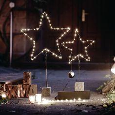 Die können Sie ganz beruhigt vor Ihre Haustür stellen - oder auch nach Drinnen holen. #Weihnachtsdeko #Impressionenversand