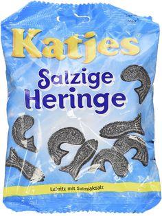 Katjes Salzige Heringe 'Salty Hering / Fish' 200g * Click on the image for additional details.
