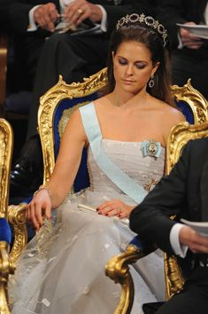 Princess Madeleine Photo - Nobel Peace Prize Ceremony - Stockholm