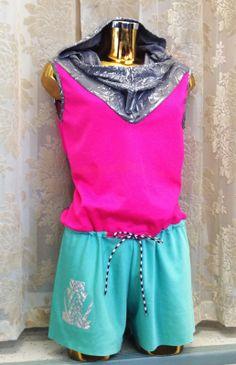 Multicolor glitter version of Jumps jumpsuit