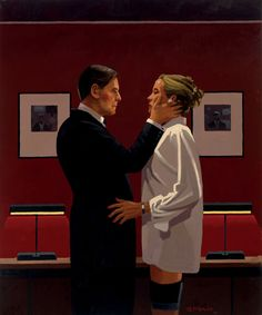 #Confession #Days of Wine & Roses 30th September – 31st October 2010 #Jack Vettriano