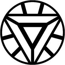 free coloring pages of iron man symbol - Avengers Logo Coloring Pages