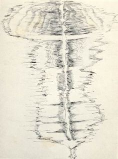 Drawing by Henri Michaux under the effect of mescaline #henrimichaux #art