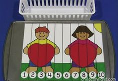 Heart Number Sequence Puzzle - Re-pinned by @PediaStaff – Please Visit http://ht.ly/63sNt for all our pediatric therapy pins