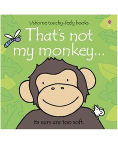 Usborne That's Not My Monkey Book...teaches textures