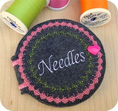 In the Hoop Needle Case Machine Embroidery Design File free from EmbroideryGarden.com