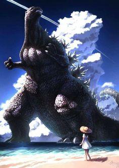 King Kong, Jurassic World Wallpaper, Godzilla Wallpaper, Cool Monsters, Japanese Film, Monster Art, Cultura Pop, Horror, Creatures