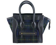 celine trio bag buy online - Celine Black Smooth Leather Nano Bag - Celine Black Nano Luggage ...