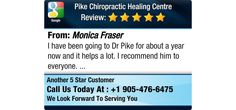 I have been going to Dr Pike for about a year now and it helps a lot. I recommend him to...