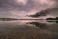 Rundle Forbay. Canmore, Alberta. Scott Cressman.
