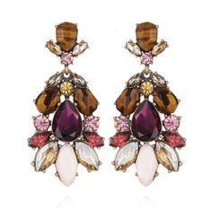 Bouquet Statement Earrings   Chloe + Isabel GREAT for Fall. Umm..YES PLEASE! https://www.chloeandisabel.com/boutique/sarahmontelongo