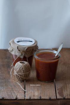 Homemade BBQ Sauce + Etiketten Freebie {inkl. Thermomix-Variante} – Dreierlei Liebelei