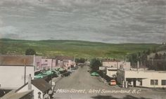 Main Street Summerland, year ?