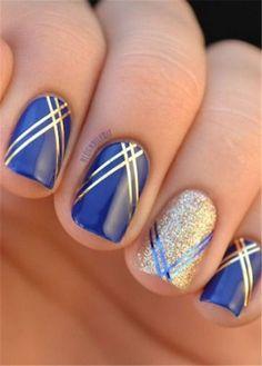 cool 30 Striped Nail Art Designs to Copy Now by http://www.nailartdesign-expert.xyz/nail-art-design/30-striped-nail-art-designs-to-copy-now/