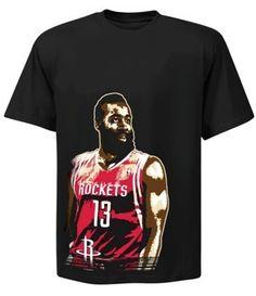 James Harden Supreme Dunk T-Shirt - Official Houston Rockets NBA Licensed Merchandise