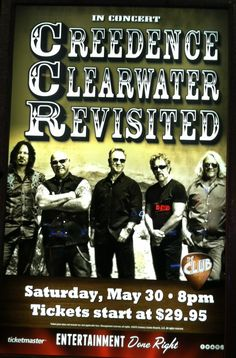 CREEDENCE CLEARWATER REVISITED @ CANNERY