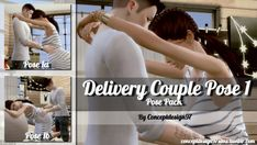 Simsworkshop: Delivery Couple Pose 1 • Sims 4 Downloads