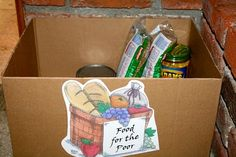 Take one item from pantry each day of lent for the Poor