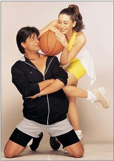 Shahrukh Khan and Karisma Kapoor - Dil To Pagal Hai (1997)