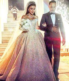 "Lebanese Weddings on Instagram: ""Yesterday's bride wearing Zuhair murad gown @zuhairmuradofficial ! #lebaneseweddings @farahalali11 #tamerandfarah"""