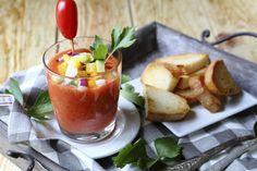 Gazpacho di pomodori Genuino: variazioni sul tema dell'aperitivo estivo