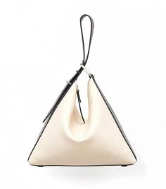 3.1 Phillip Lim Quill Triangle Bag in Powder