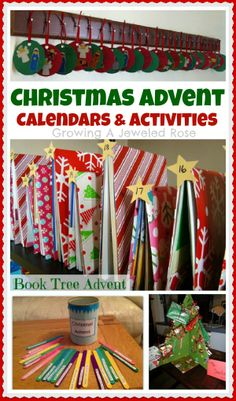 Fun Christmas Advent Calendars & Activites