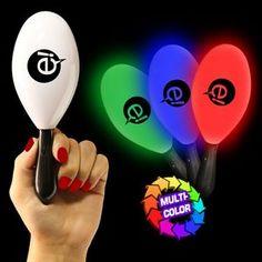 """7 1/2"""" #LightUp #Maracas #Dancefloor #Giveaway #BarMitzvah #BatMitzvah #Favor #PartyFavor #Event"""