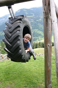 Different kind of Tire Swing